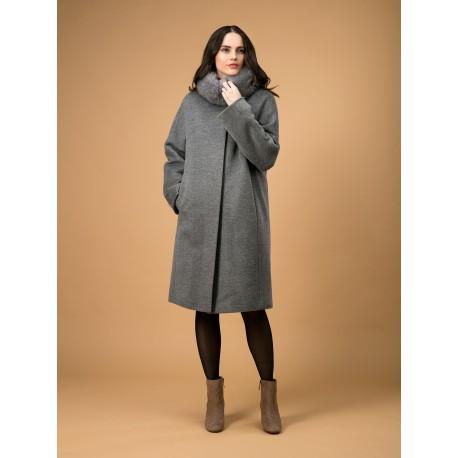 Пальто утепленное  КМ582
